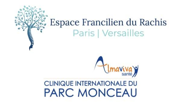 logo espace francilien du rachis almaviva clinique internationale du parc monceau